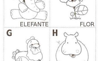 Abecedario Ilustrado Para Colorear Archivos Dibujos Para