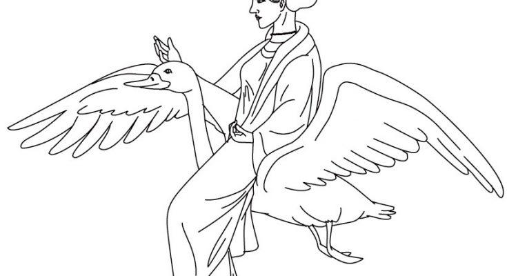 Dibujo Dibujo de Afrodita para colorear