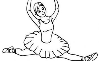 Dibujo Bailarina de ballet clásico