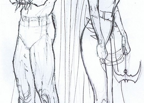 Dibujo Dibujo de Batman y Batgirl para pintar