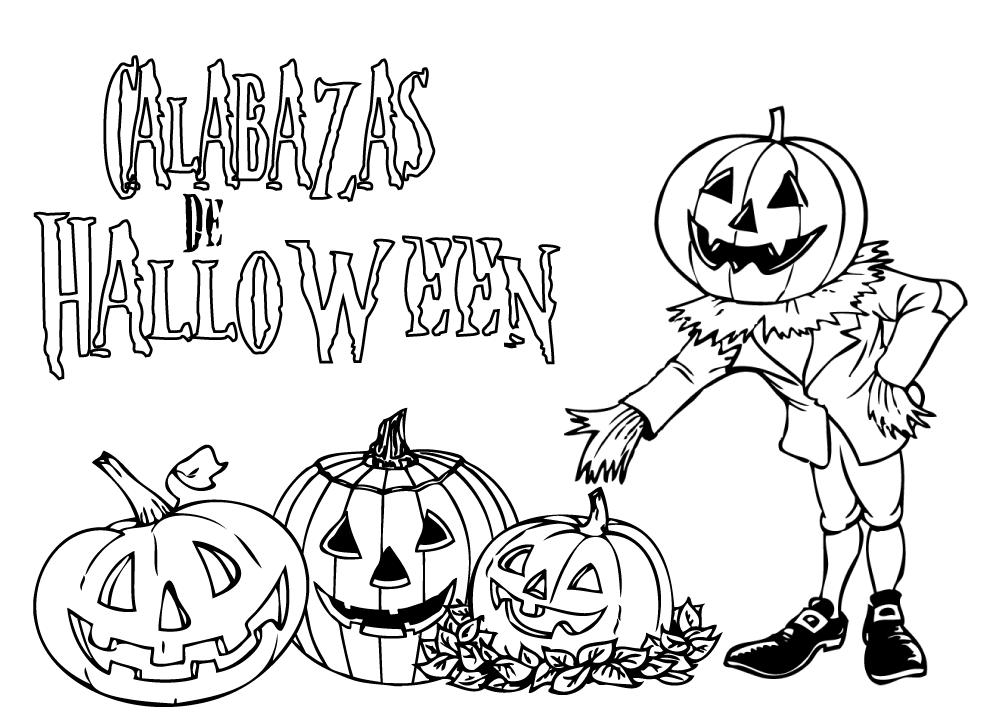 Dibujo Tipico De Halloween Dibujos Para Colorear