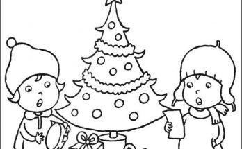 Imágenes De Navidad Para Colorear Archivos Dibujos Para