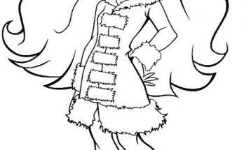 Dibujo Colección de otoño de chica Bratz