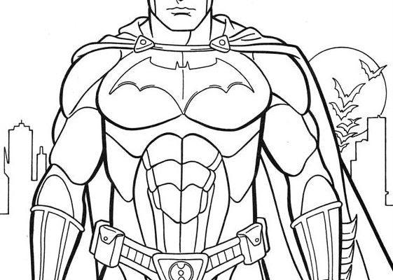 Dibujo De Batman Para Colorear Dibujos Para Colorear