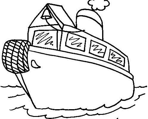 Barco De Vapor Para Colorear Dibujos Para Colorear