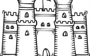Muros De Castillo Archivos Dibujos Para Colorear