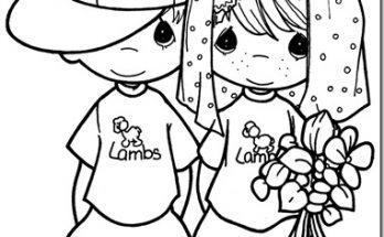 Dibujo Dibujos de boda infantil