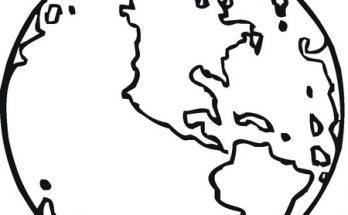 Dibujo Nuestro planeta la Tierra