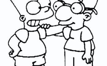 Dibujos Animados De Los Simpsons Archivos Dibujos Para Colorear