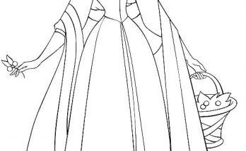 Vestido De Bella Archivos Dibujos Para Colorear