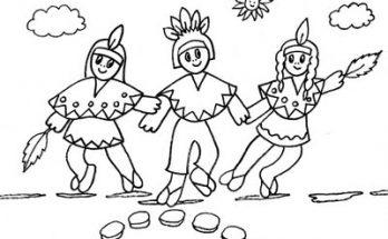 Niños Jugando Archivos Dibujos Para Colorear