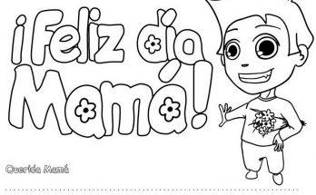 Dibujos Dia De La Madre Pagina 2 De 2 Dibujos Para Colorear