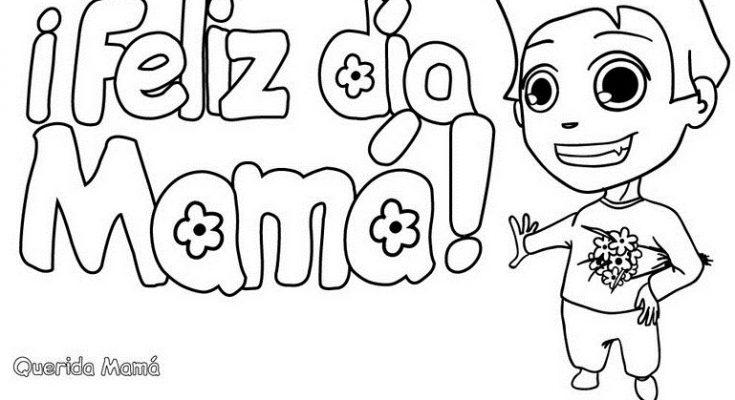 Carta De Un Chico Para El Día De La Madre Dibujos Para
