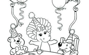 Dibujo Gran fiesta infantil