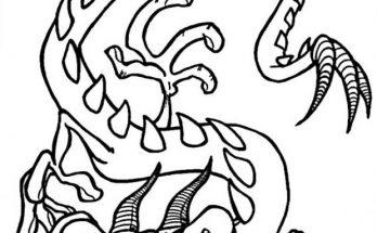Dibujo Cuernos de lagarto