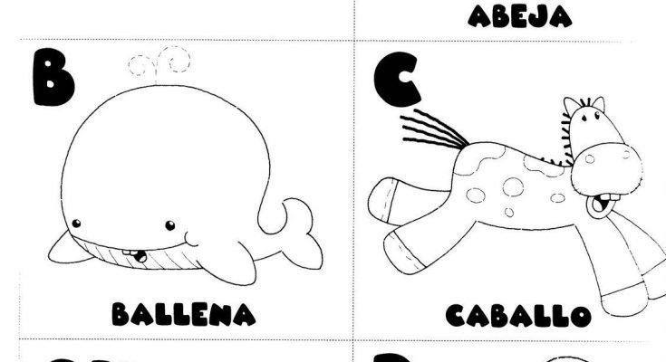 Letras A B C Ch D Para Colorear Dibujos Para Colorear