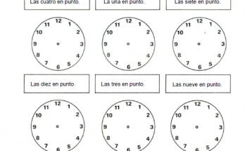 Maqueta De Reloj Archivos Dibujos Para Colorear