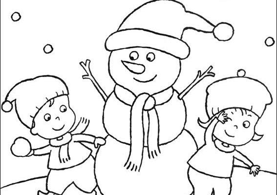 Dibujo Blanca Navidad