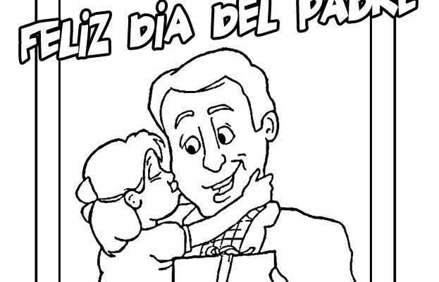 Feliz Día Del Padre Dibujos Para Colorear