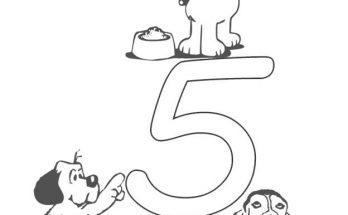 Dibujos De Letras Y Números Página 2 De 5 Dibujos Para