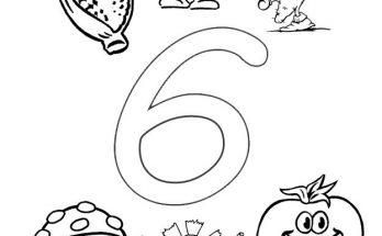 Dibujos De Letras Y Números Página 3 De 5 Dibujos Para