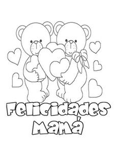 Dibujo Detalles con mamá