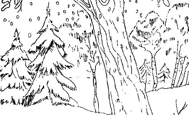 Paisaje De Montaña Para Colorear Dibujos Para Colorear