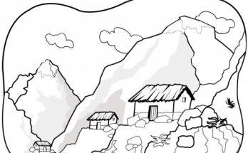 Dibujos De Paisajes Página 3 De 3 Dibujos Para Colorear