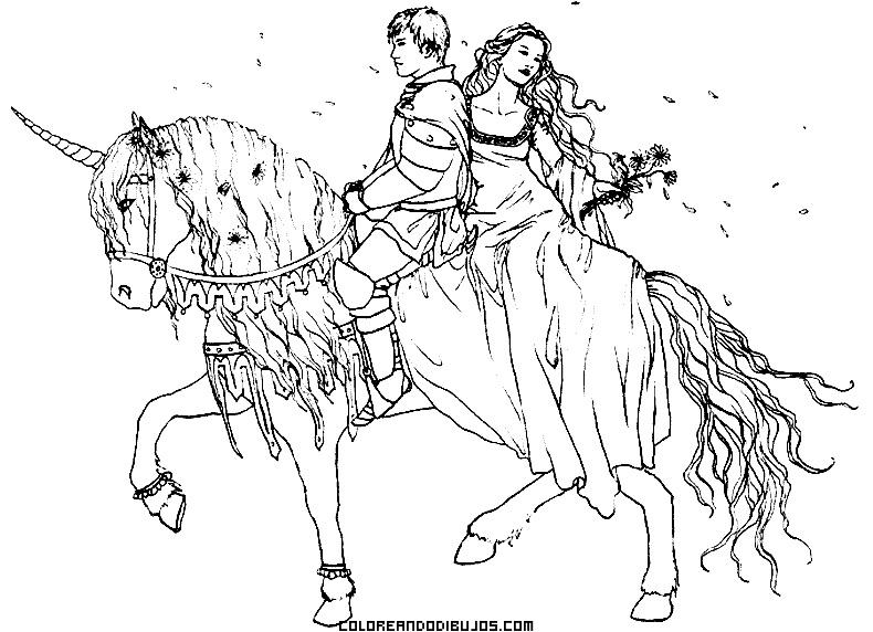 Dibujos De Unicornios Para Colorear Imagenes De Unicornio Para