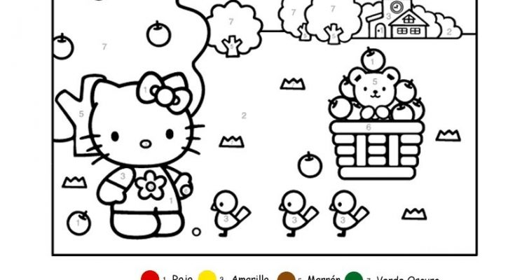 Dibujo Pasatiempo de Hello Kitty