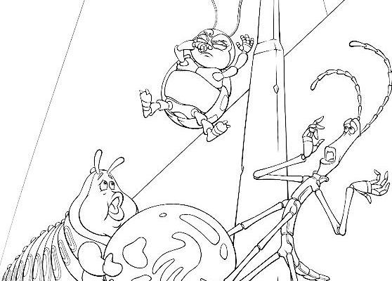 Dibujo Bichos de Disney