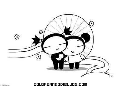 Romántico Dibujo De Amor Dibujos Para Colorear