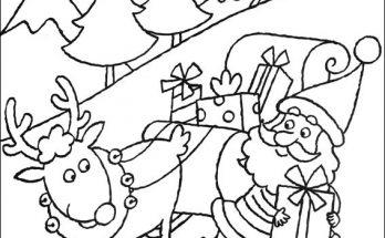 Dibujos De Navidad Página 2 De 2 Dibujos Para Colorear
