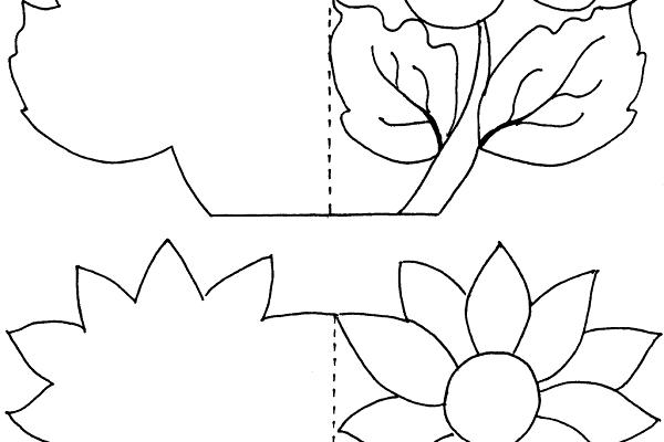 Tarjetas Para El Día De La Madre Dibujos Para Colorear