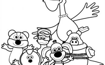 Dibujo Timmy y sus amigos