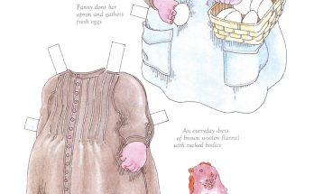 Dibujo Vestidos recortables para Fanny Louise